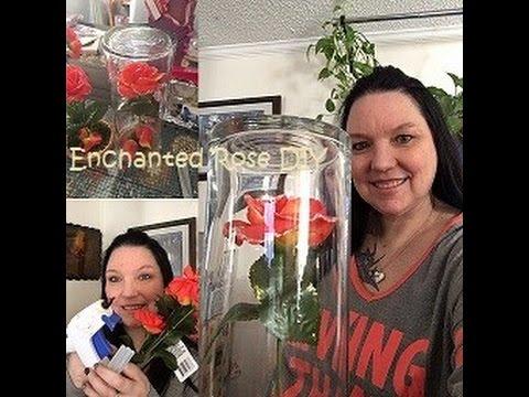 Dollar Tree Enchanted Rose  DIY  my version