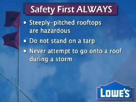 Tarp Your Roof