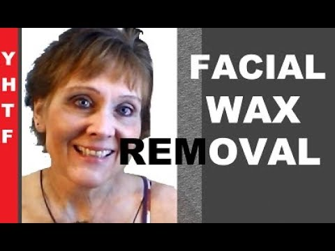 Using Olive Oil To Remove Wax After Facial Hair Removal! ~~~Nancy