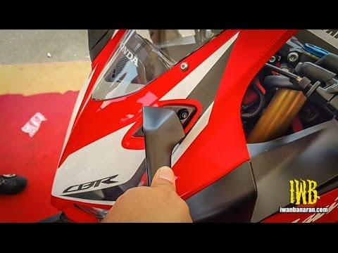 Adjust spion All new Honda CBR250RR