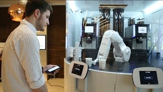 Cafe X opens a robotic coffee shop in SF
