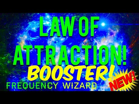 ⚡️LAW OF ATTRACTION BOOSTER! ATTRACT YOUR DESIRES! SUBLIMINAL HYPNOSIS AFFIRMATIONS FREQUENCY SPELL