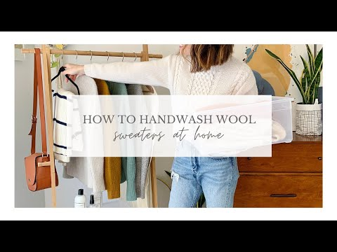 How to Hand Wash Wool Sweaters At Home