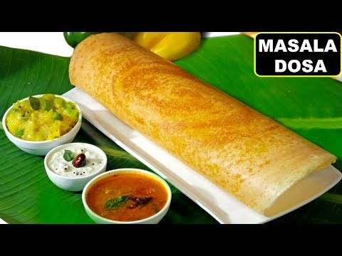 How To Make Crispy MASALA DOSA South Indian Style (मसाला डोसा) | Breakfast Recipe | CookWithNisha