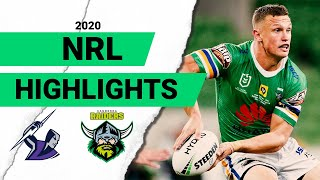 Storm v Raiders Match Highlights | Round 3 2020 | Telstra Premiership | NRL