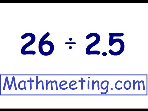 Dividing Decimals - Example 2