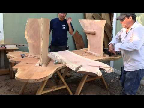 Hand Made Rustic Outdoor Furniture