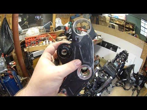Yamaha R3 Restoration Episode 3 - Ignition removal