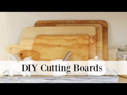 DIY Cutting Boards | How To Make Your Own Cutting Board