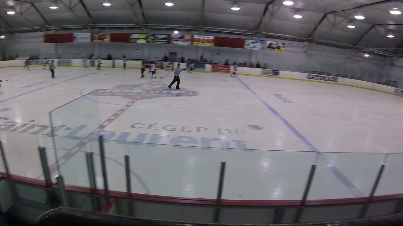 Semi-final game: Start of the game & 1st Ile-Perrot goal