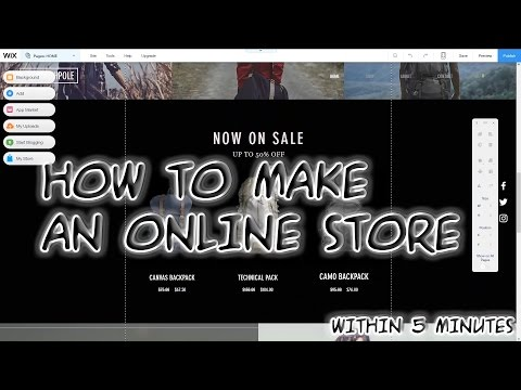 How To Make An Online Store Ecommerce Websitewith Subtitles