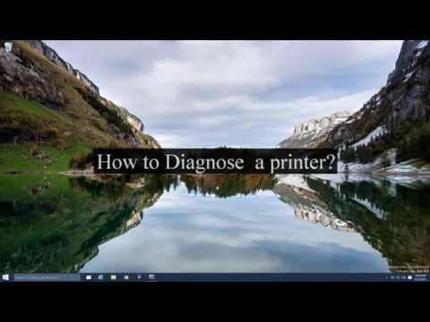 How to diagnose a printer that is not working?