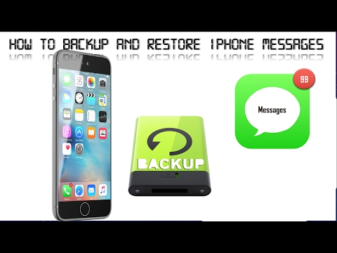 How to Backup and Restore Your iPhone's Messages Only