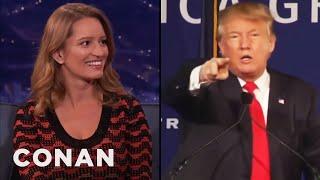 """Katy Tur On Trump Calling Her """"Little Katy""""  - CONAN on TBS"""