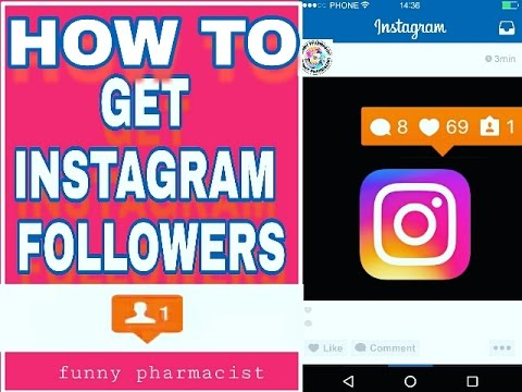 [100%Working] || HOW TO GET INSTAGRAM FOLLOWERS || Funny Pharmacist