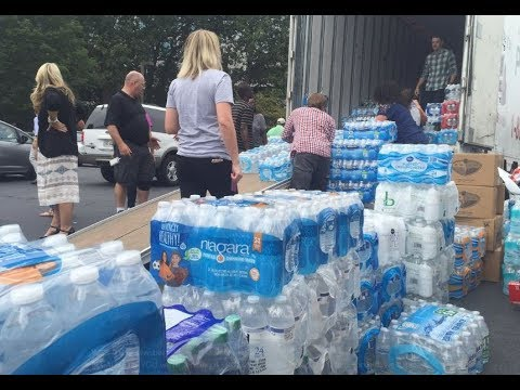 Atlanta steps up in a major way to help Harvey flood victims