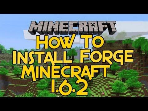 Easy Installation:Minecraft Forge 1.6.2 ModLoader #Minecraft
