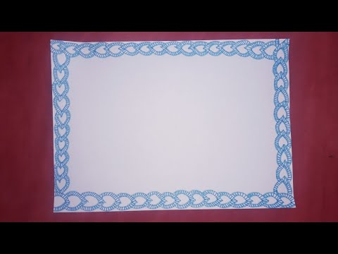 Page border design for projects drawing| paper border design for projects|simple border designs