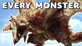 Every Monster In Monster Hunter World in 13 minutes   The Leaderboard