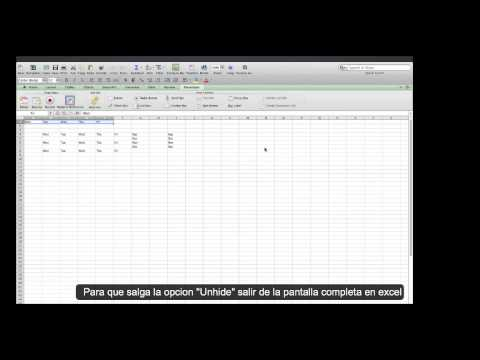Tutorial de macros para mac excel 2011