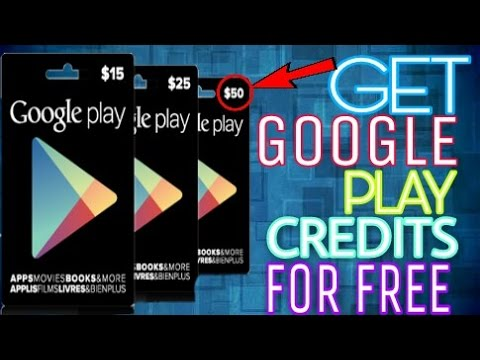 Get Google Play Credits for free without root or computer....100% working!!!