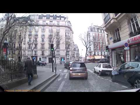 Driving In Paris - 19/01/2016