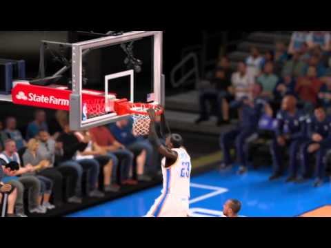 NBA 2K15 Alley Oop off the glass MyPlayer