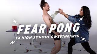 Ex High School Sweethearts Play Fear Pong (Eddie & Miriam) | Fear Pong | Cut