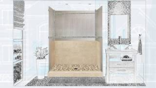 Sistine Stone Diy Mosaic Shower Introduction