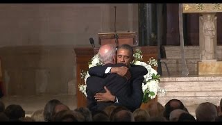 President Obama praises Beau Biden in eulogy