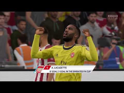 FIFA 20 | Sheffield United Vs Arsenal | English FA Cup  20/21 | Full Match & Gameplay