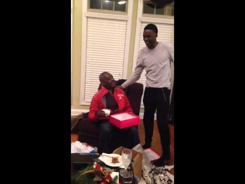 Alabama Football Father Surprised with Tickets to Sugar Bowl for Christmas 2014