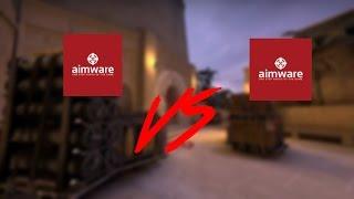 CS:GO - MM HvH #3 - Aimware vs Aimware (Intense game) - getplaypk