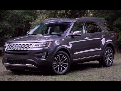 2016 FORD Explorer Platinum Review Commercial New Ford SUV CARJAM TV 4K 2015