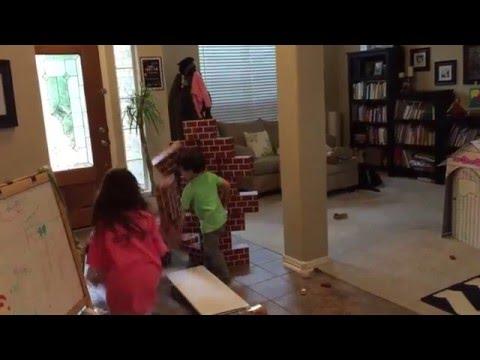 kids being destructive
