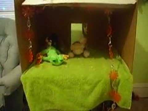 Webkinz Puppet Show