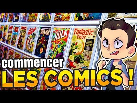 COMMENT COMMENCER LES COMICS ??!!