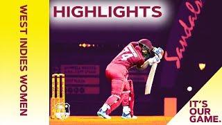 West Indies Women vs Australia Women   1st T20 2019 - Highlights