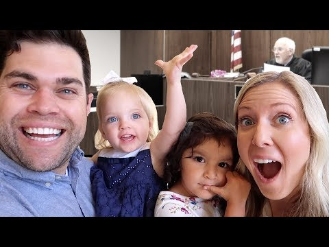Callie's PERFECT ADOPTION GOTCHA DAY!! (Official Court Hearing)