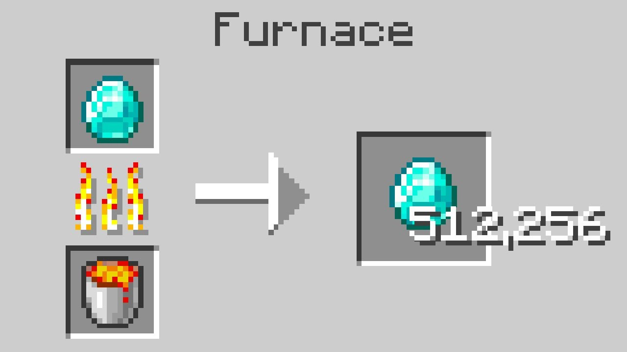 Minecraft, But Smelting Multiplies Items...
