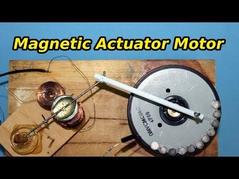 Simple Solenoid Motor