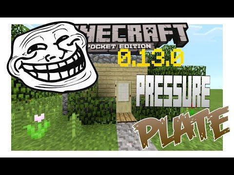Minecraft PE | Pressure Plate Trap