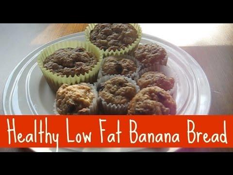 LOW FAT BANANA BREAD | CUPCATS