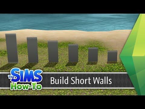 Building Short Walls in The Sims 3 - Tutorial   TSH #2