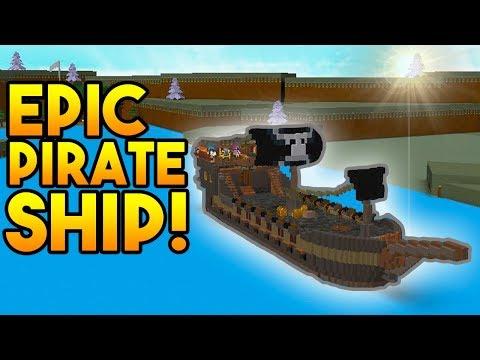 INSANE PIRATE SHIP! | Build A Boat For Treasure ROBLOX
