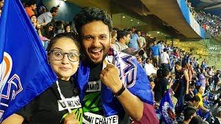 8,000 Rs. IPL TICKET EXPERIENCE   MY FIRST IPL MATCH   MI vs SRH Super over Match