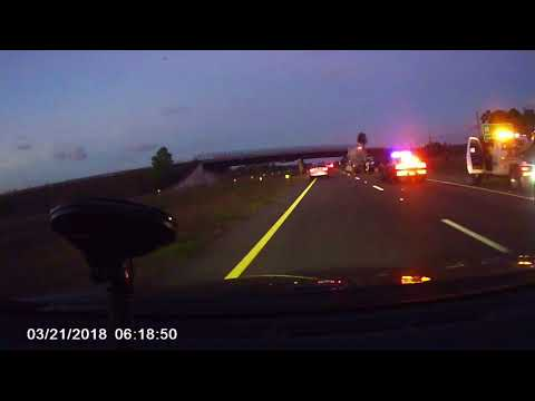 Car vs Big Rig - Fatality on the Suncoast Parkway - Jerry Boutot Dashcam Video