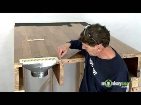 Fixing Squeaks Under Hardwood Floors