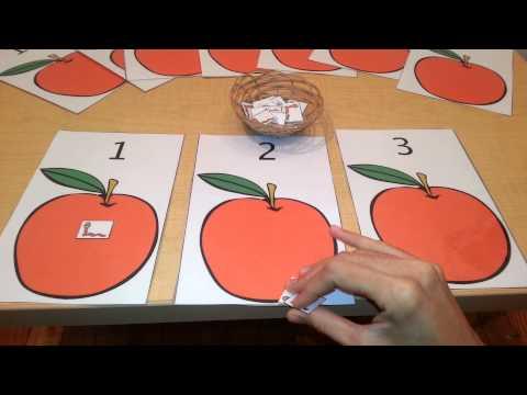 Math Number Quantity Activity- Toddlers, Preschool, Kindergarten