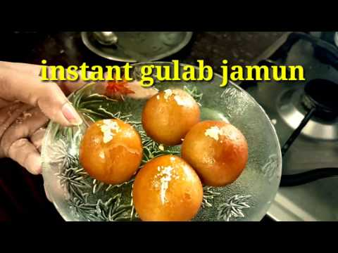 5 min main tasty Kala gulab jamun without mix